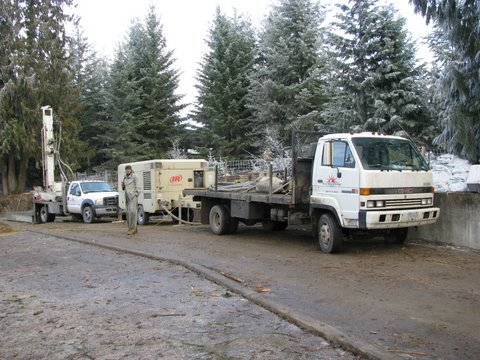 Geothermal Drilling Equipment for Vancouver and Area Drill Jobs